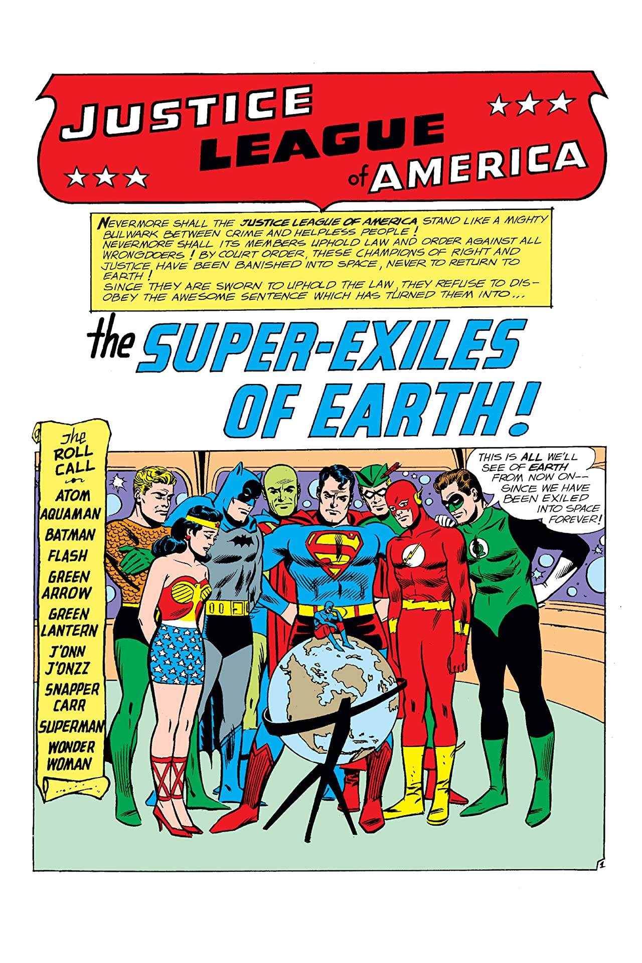 Justice League of America (1960-1987) #19