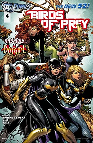 Birds of Prey (2011-2014) #4