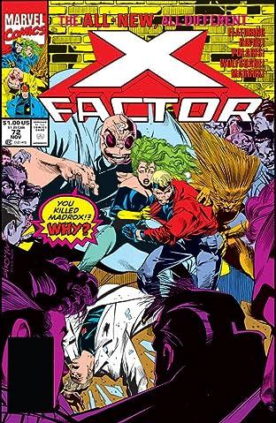 X-Factor (1986-1998) #72