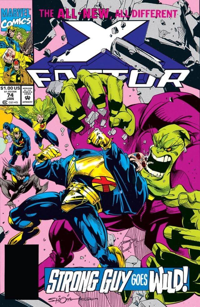 X-Factor (1986-1998) #74