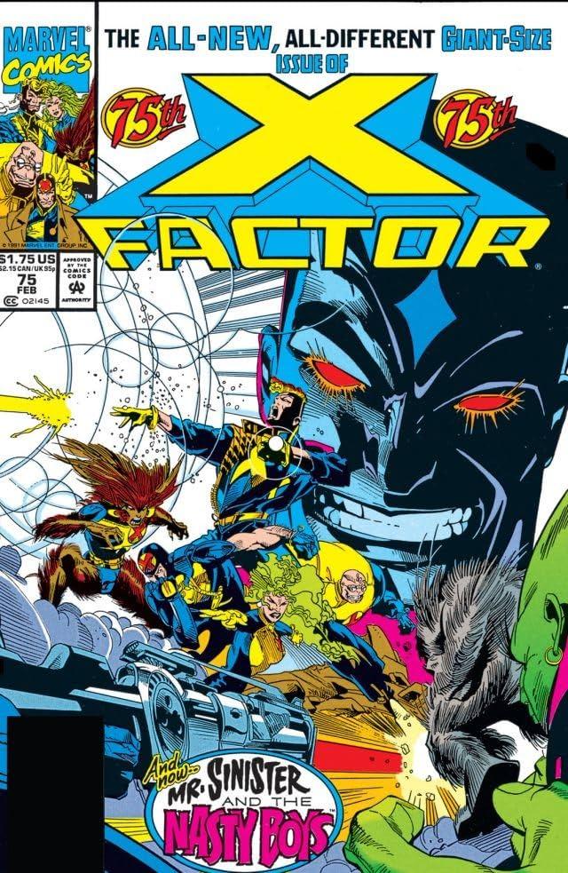 X-Factor (1986-1998) #75