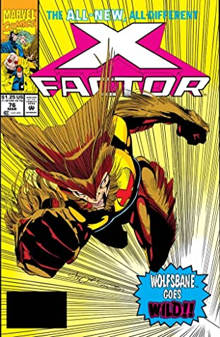 X-Factor (1986-1998) #76