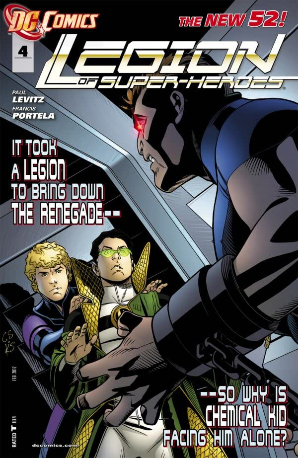 Legion of Super-Heroes (2011-2013) #4