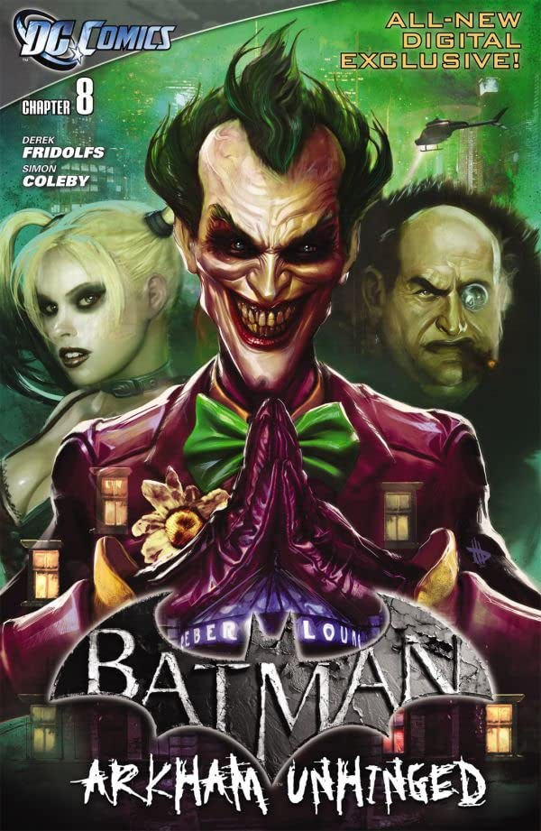 Batman: Arkham Unhinged #8