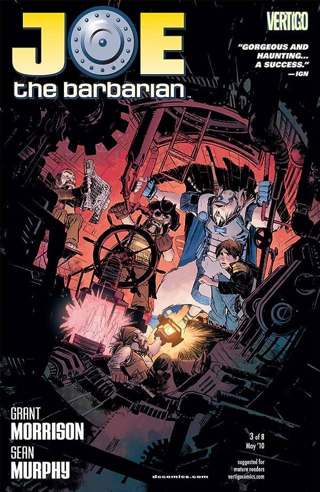 Joe the Barbarian #3