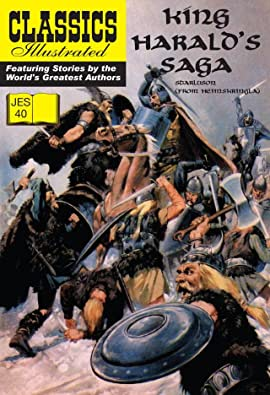 Classics Illustrated JES #40: King Harald's Saga