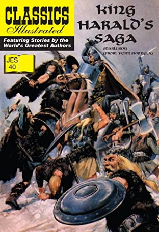 Classics Illustrated JES #40: King Harald's Saga
