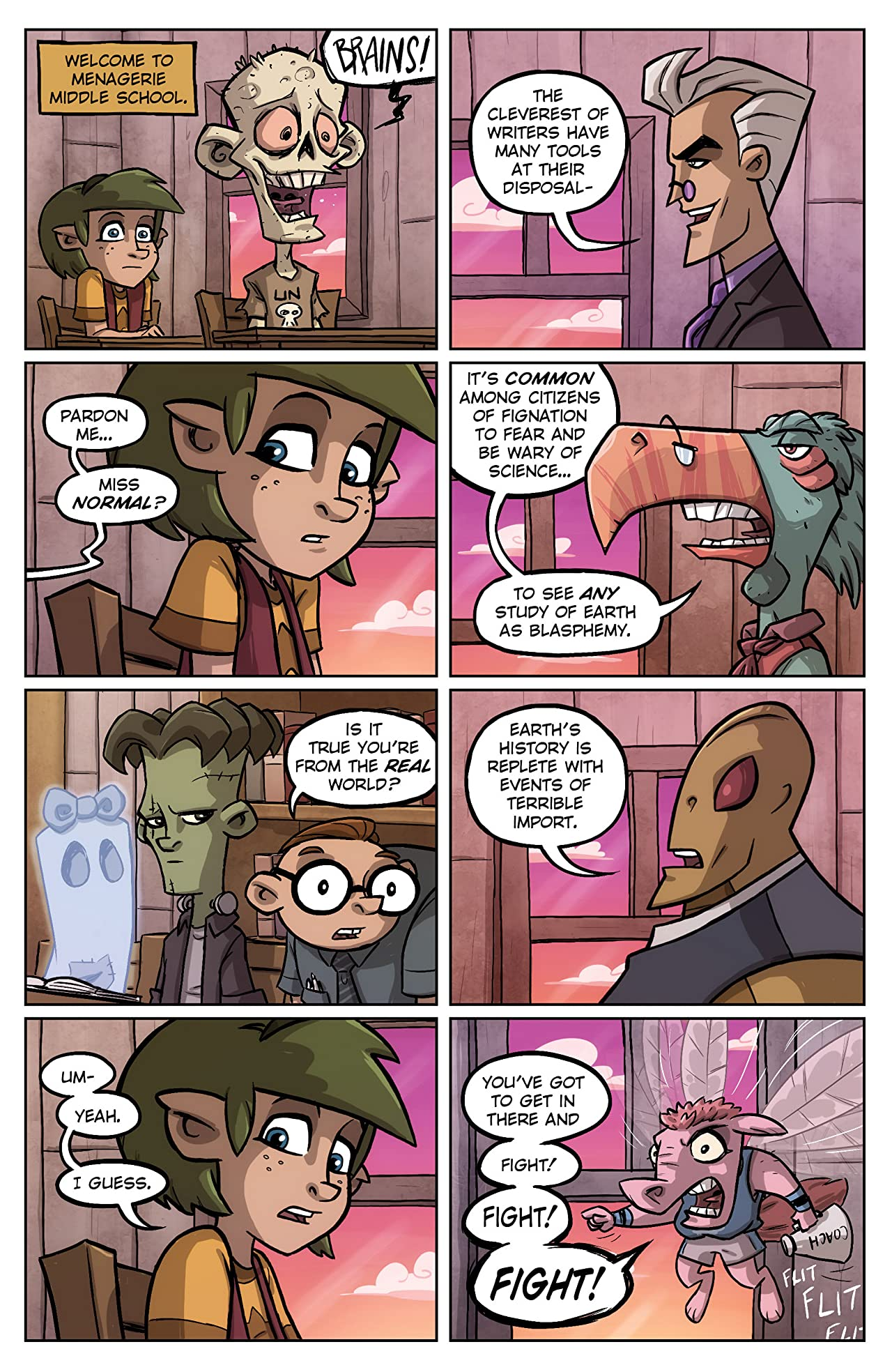 Oddly Normal #4