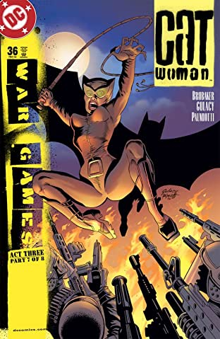 Catwoman (2002-2008) #36