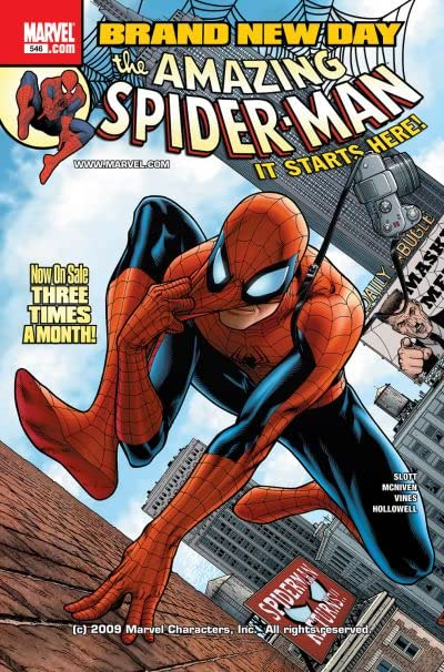 Amazing Spider-Man (1999-2013) #546