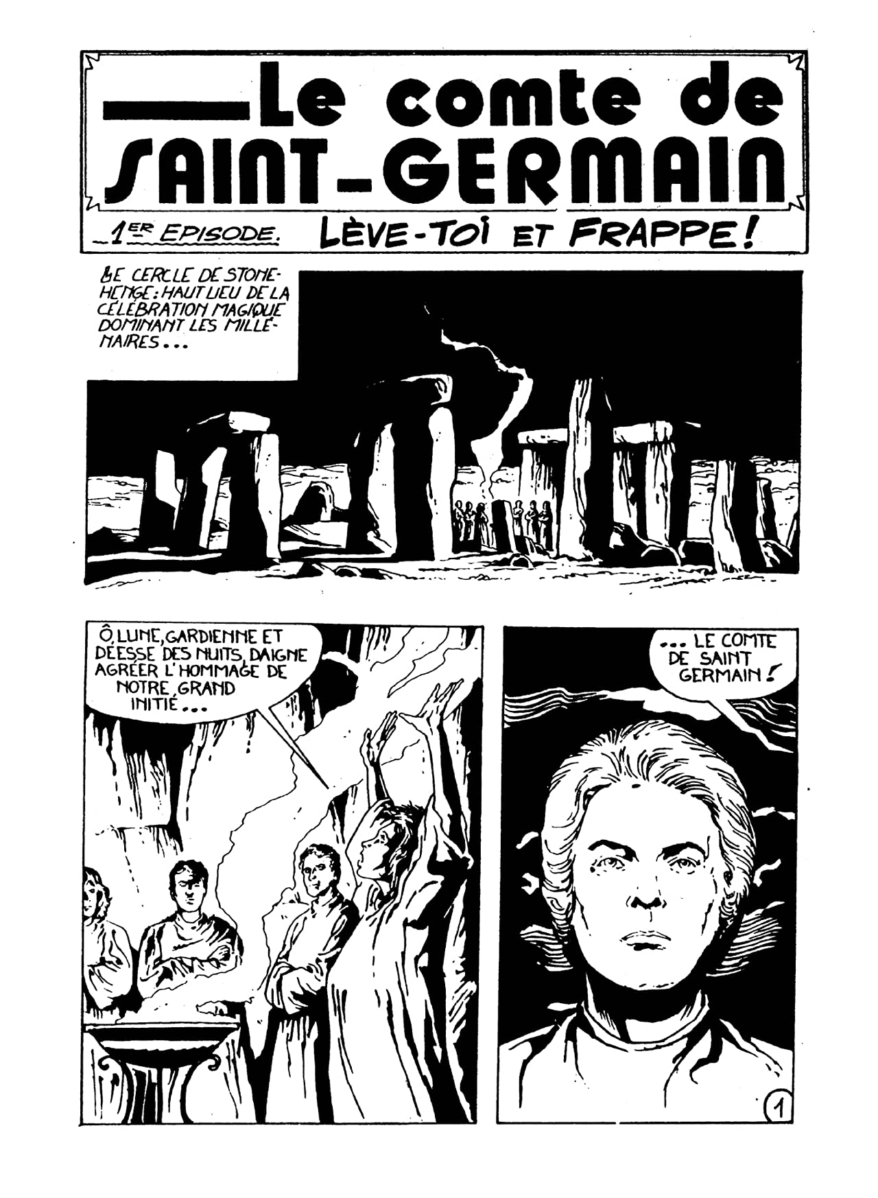 COMTE ST. GERMAIN Vol. 1: Lève-toi et frappe!