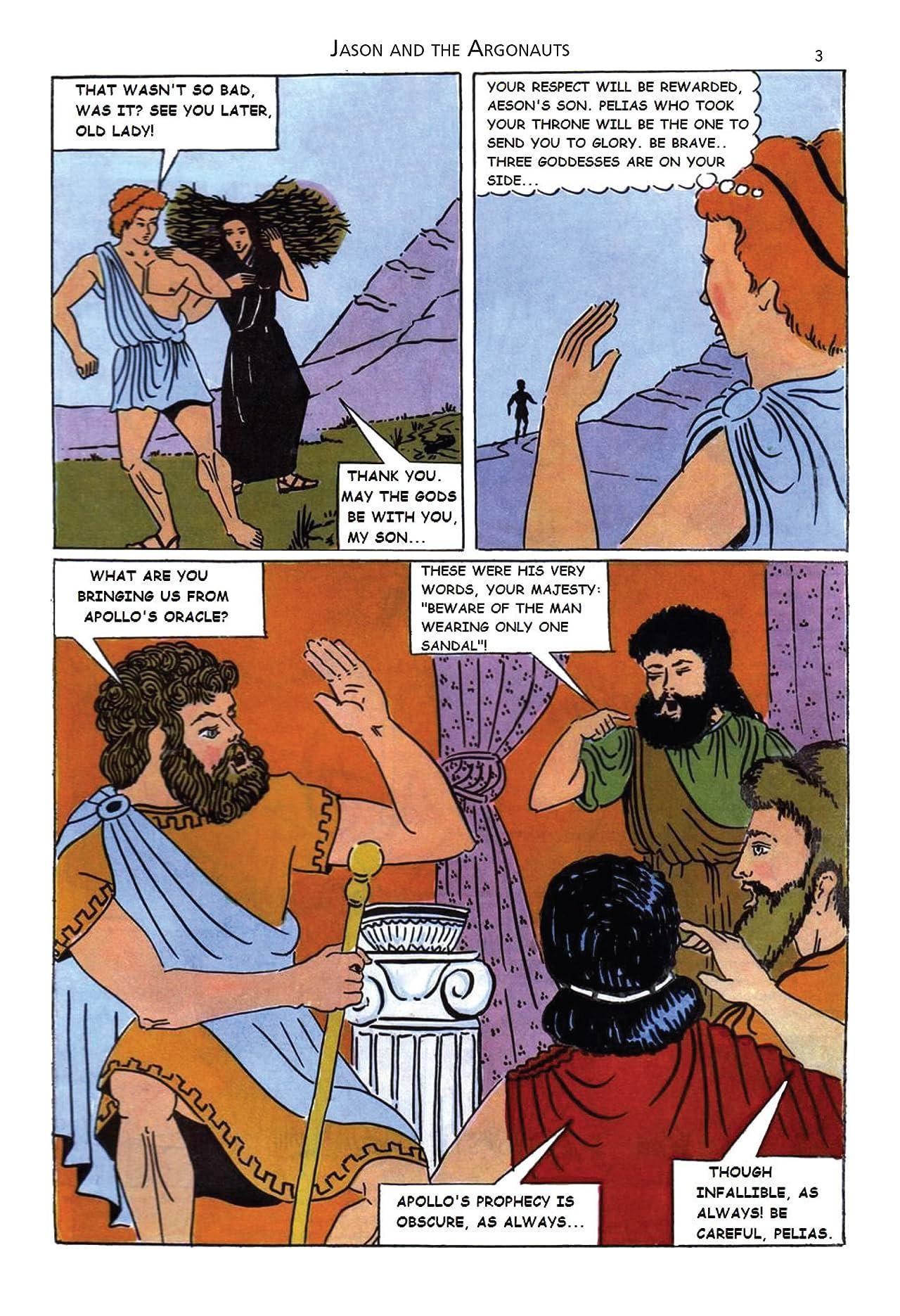 Classics Illustrated Greek #2: Jason and the Argonauts