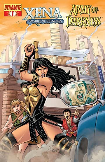 Xena: Warrior Princess vs. Army of Darkness: What, Again? #1 (of 4)