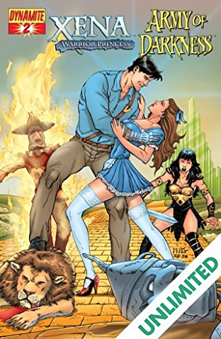 Xena: Warrior Princess vs. Army of Darkness: What, Again? #2 (of 4)