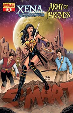 Xena: Warrior Princess vs. Army of Darkness: What, Again? #3 (of 4)