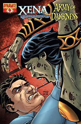 Xena: Warrior Princess vs. Army of Darkness: What, Again? #4 (of 4)