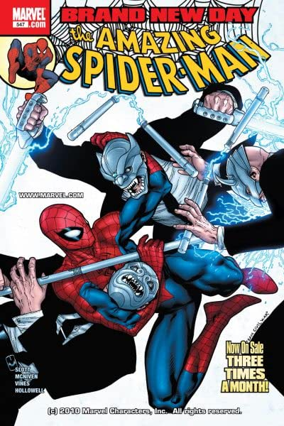 Amazing Spider-Man (1999-2013) #547