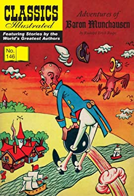 Classics Illustrated JES UK #146: The Adventures of Baron Munchausen