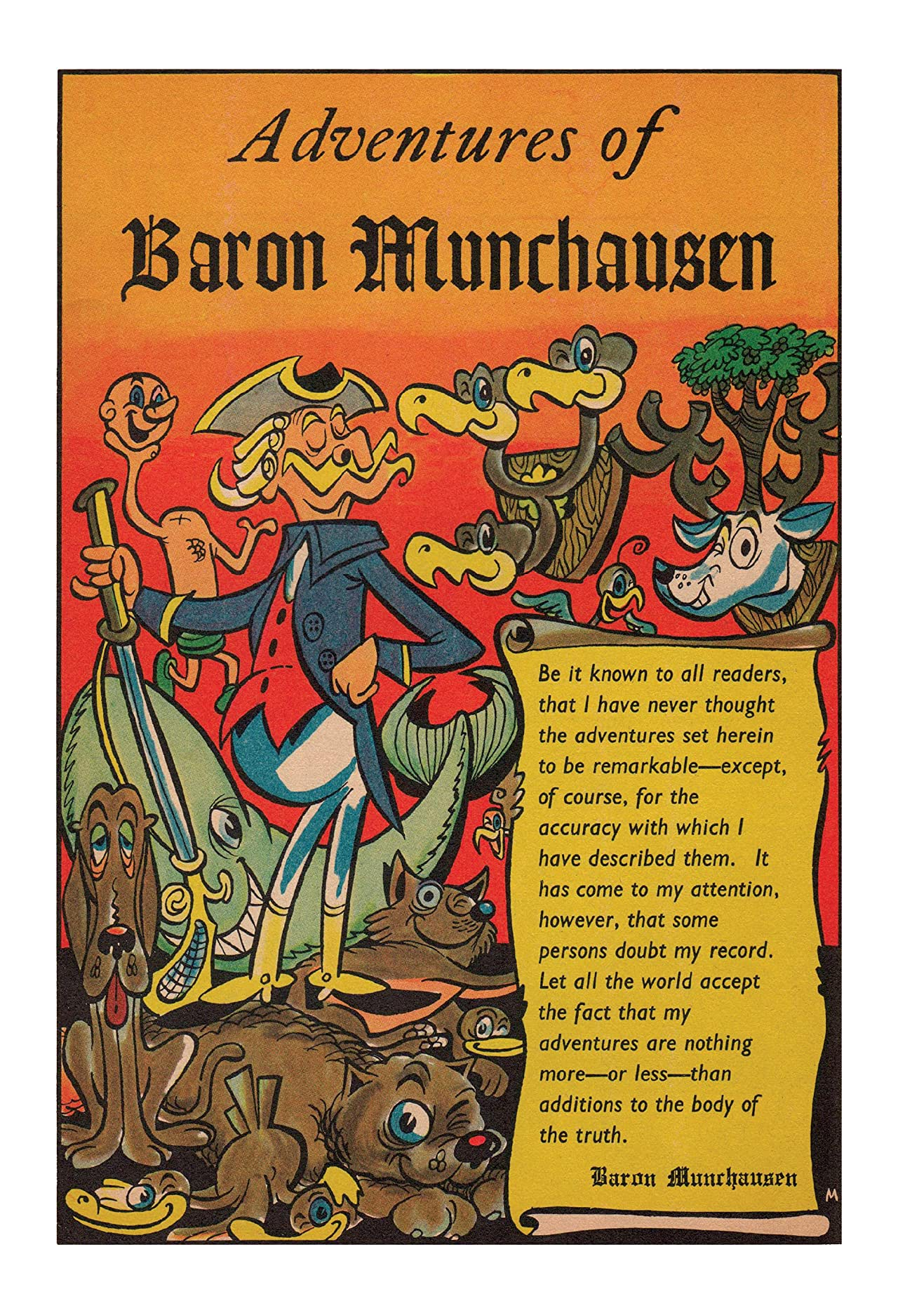 Classics Illustrated JES UK #146: The Adventures of Baron Munchausen