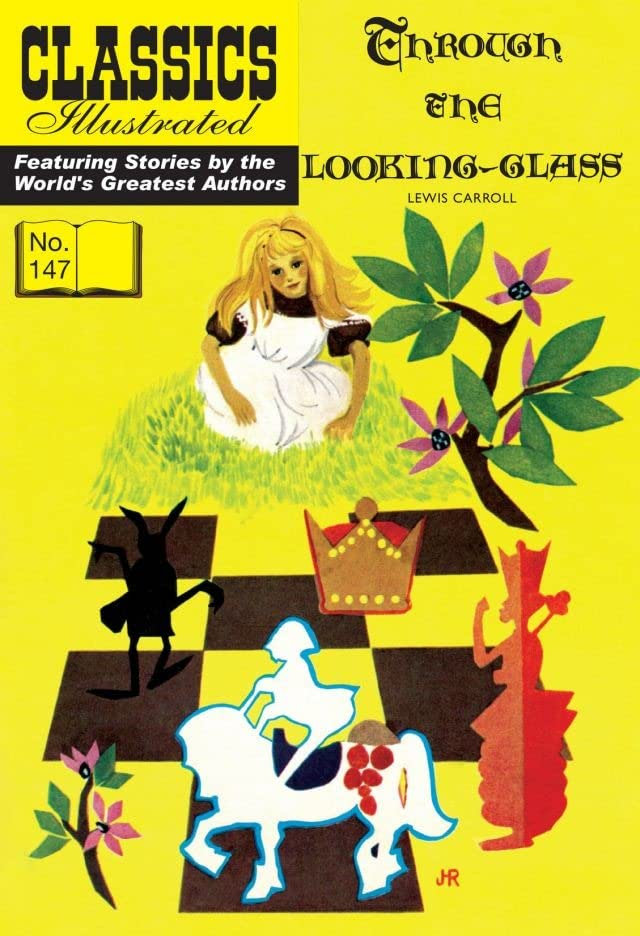 Classics Illustrated JES UK #147: Through the Looking-Glass