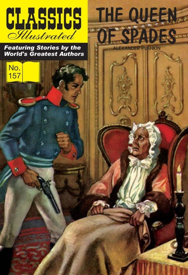Classics Illustrated JES UK #157: The Queen of Spades