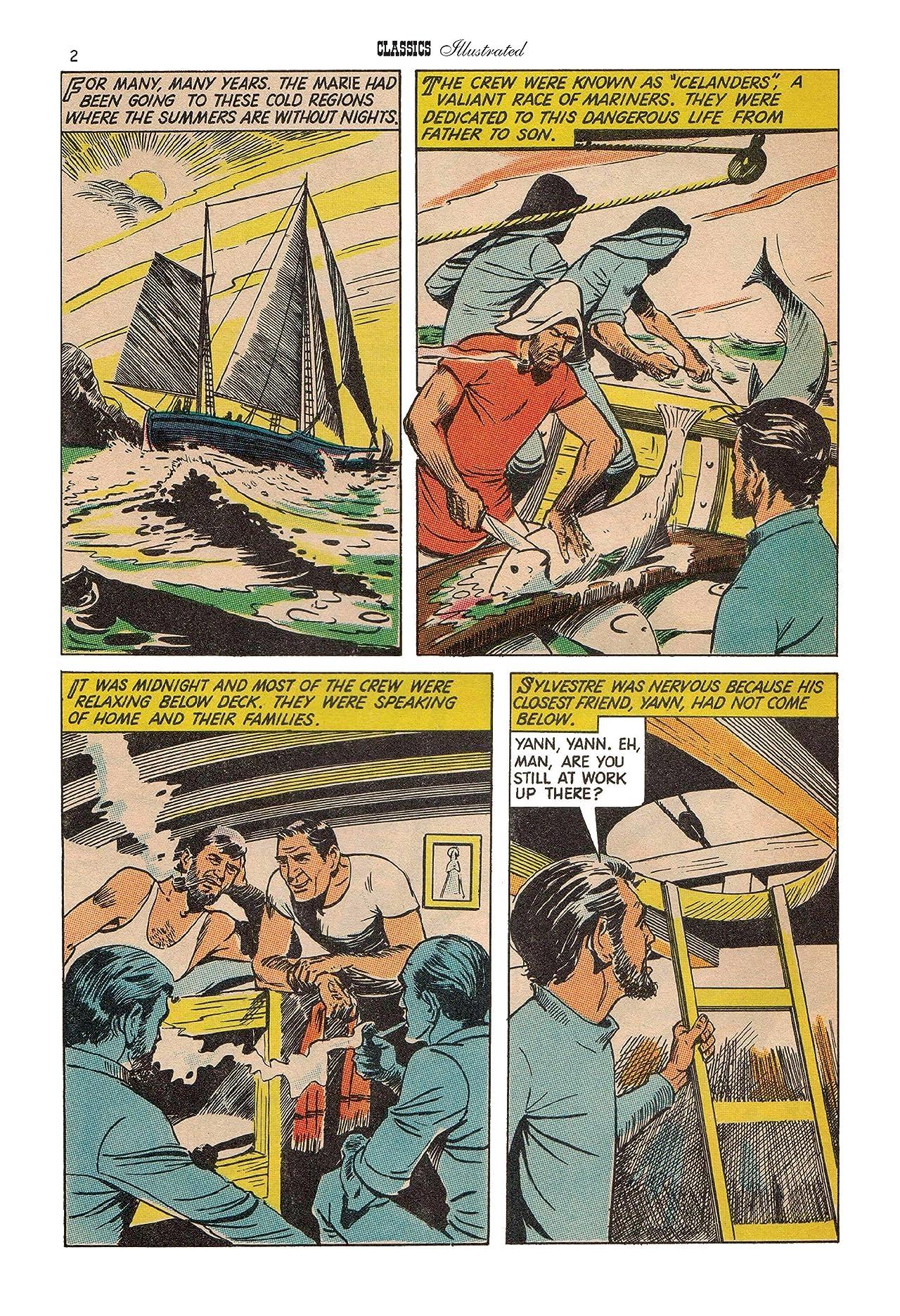 Classics Illustrated JES UK #162: Saga of the North