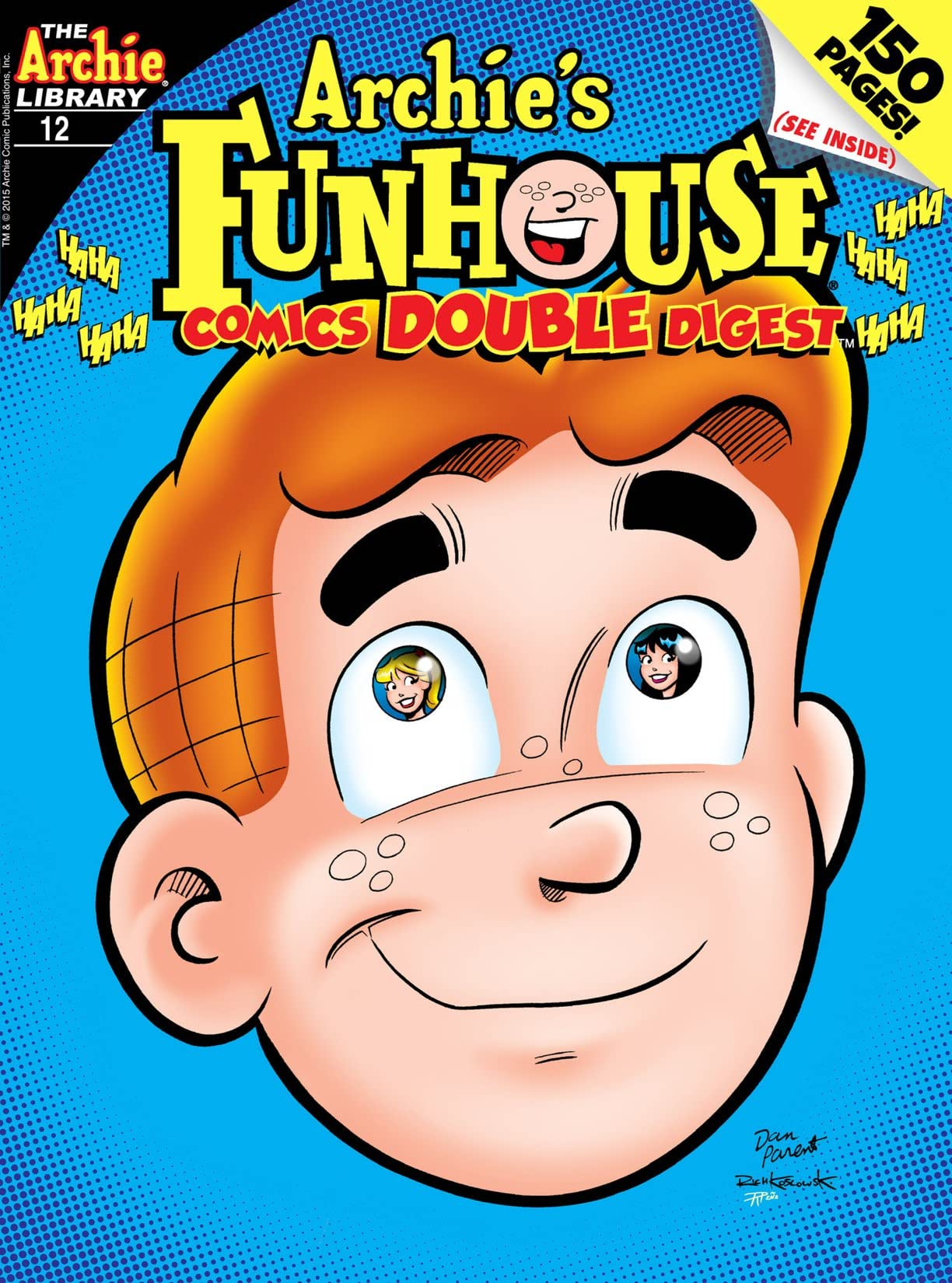 Archie's Funhouse Comics Double Digest #12