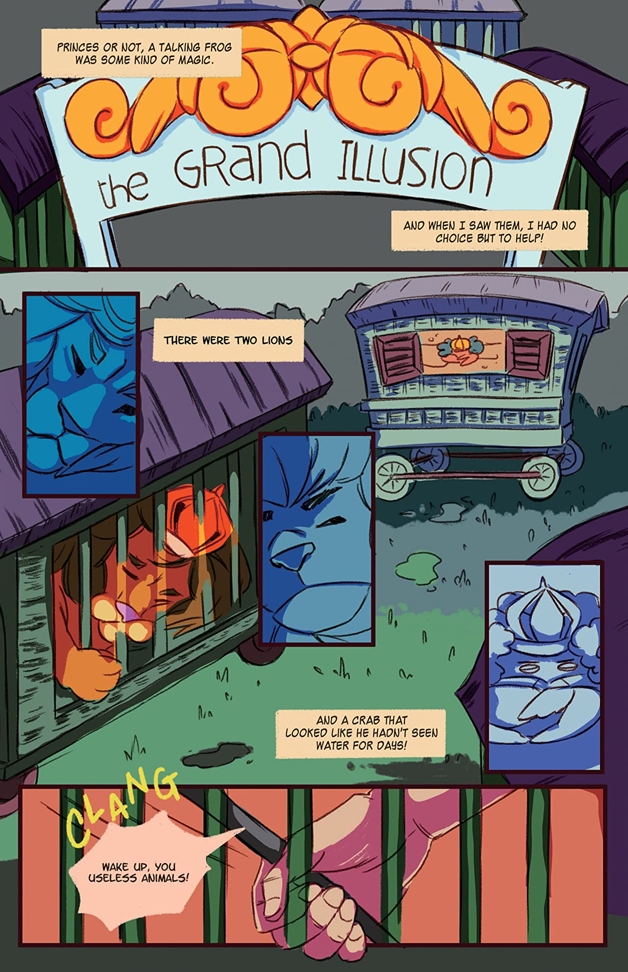 Killer Queen, A Comic Anthology: Mercurana