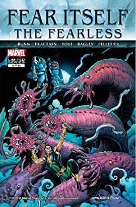 Fear Itself: The Fearless #4 (of 12)