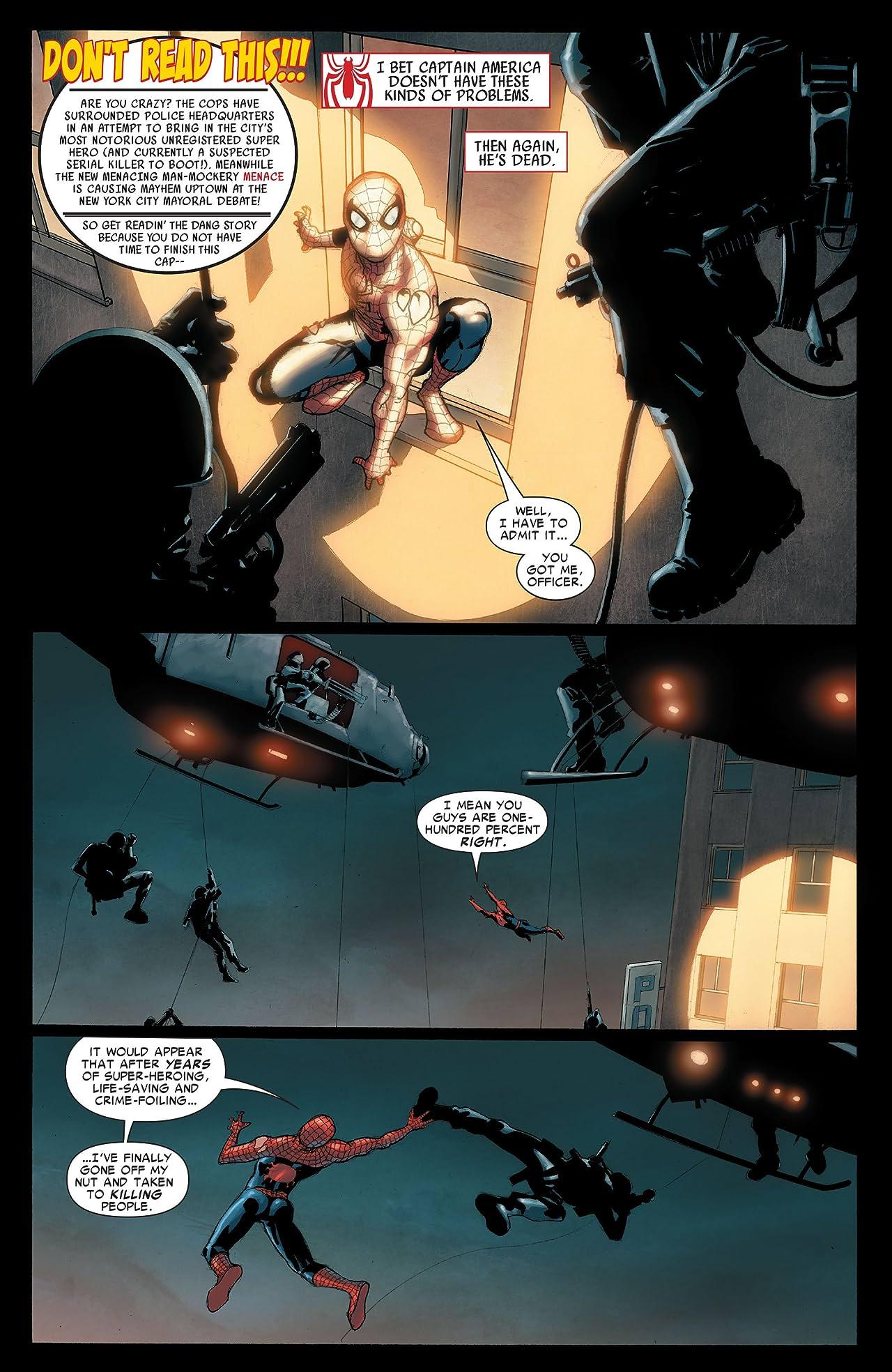 Amazing Spider-Man (1999-2013) #551