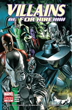 Villains For Hire (2011-2012) #1 (of 4)