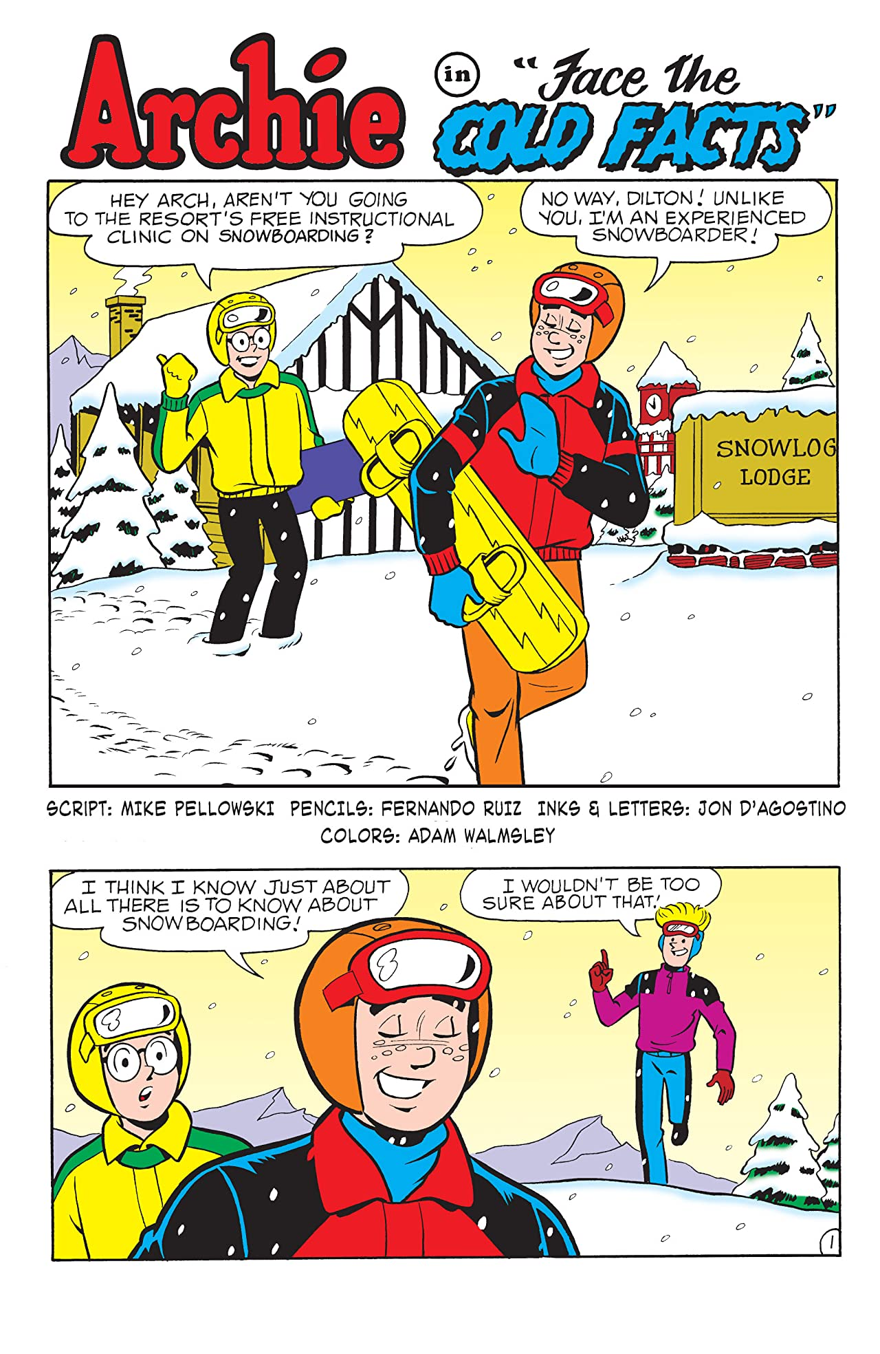 PEP Digital #128: World of Archie Xtreme Winter