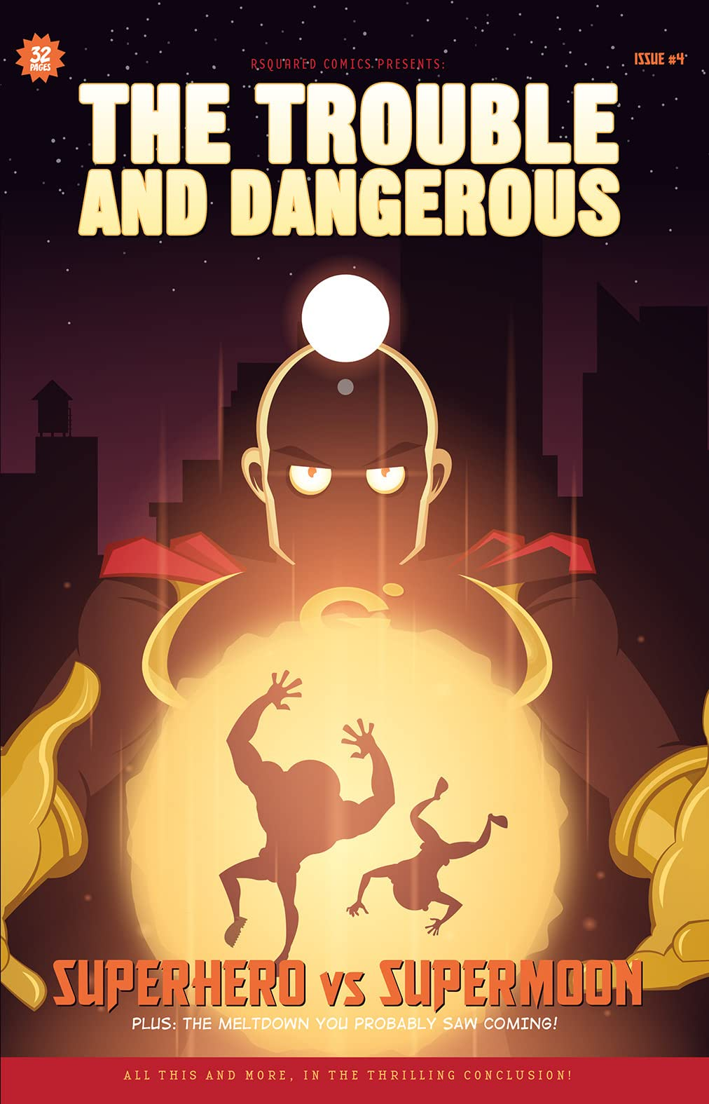 The Trouble and Dangerous #4
