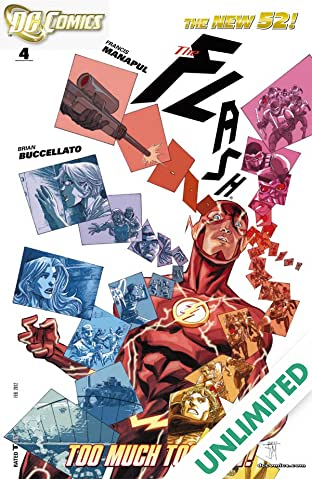 The Flash (2011-2016) #4