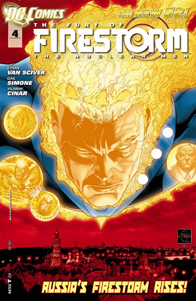 The Fury of Firestorm: The Nuclear Men (2011-2013) #4