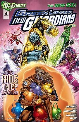Green Lantern: New Guardians (2011-2015) #4