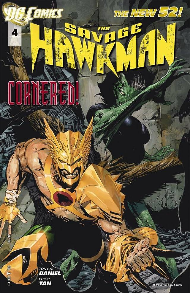 The Savage Hawkman (2011-2013) #4