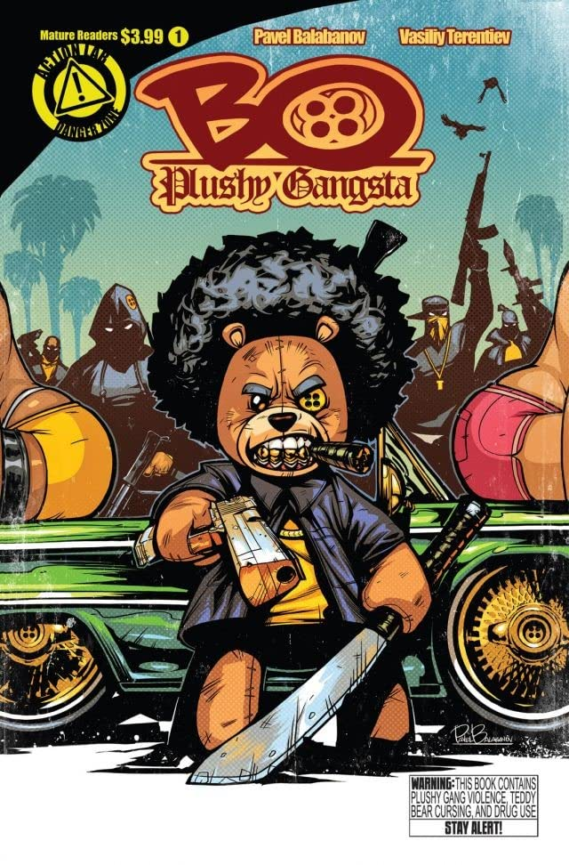 Bo Plushy Gangsta #1
