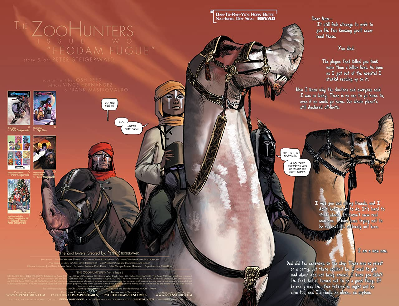The Zoohunters #2 (of 6)