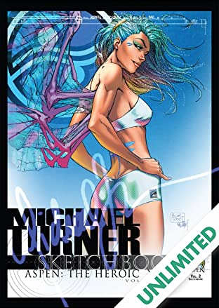 Michael Turner Sketchbook - Aspen: The Hero Years Vol. 2
