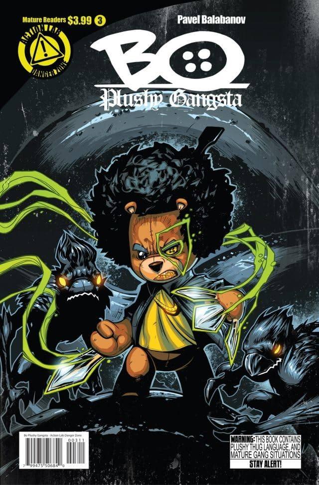 Bo Plushy Gangsta #3