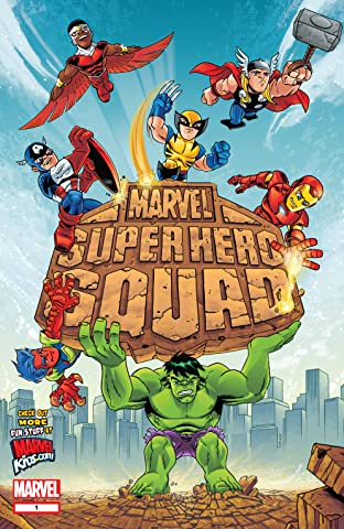 Marvel Super Hero Squad #1 (of 4)