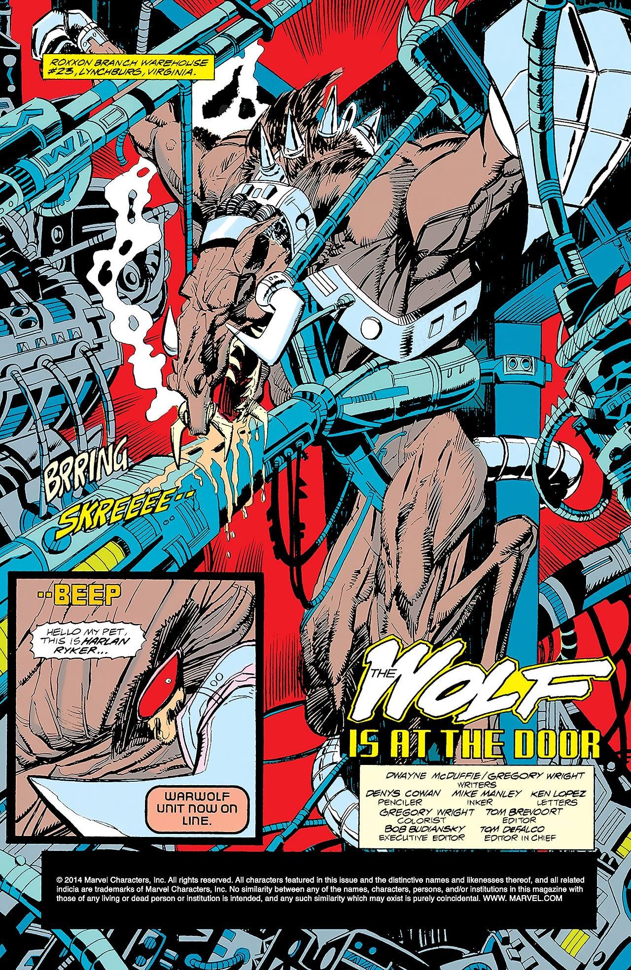 Deathlok (1991-1994) #1