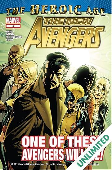 New Avengers (2010-2012) #6