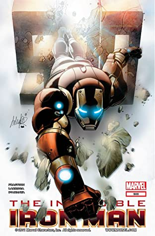 Invincible Iron Man (2008-2012) #500