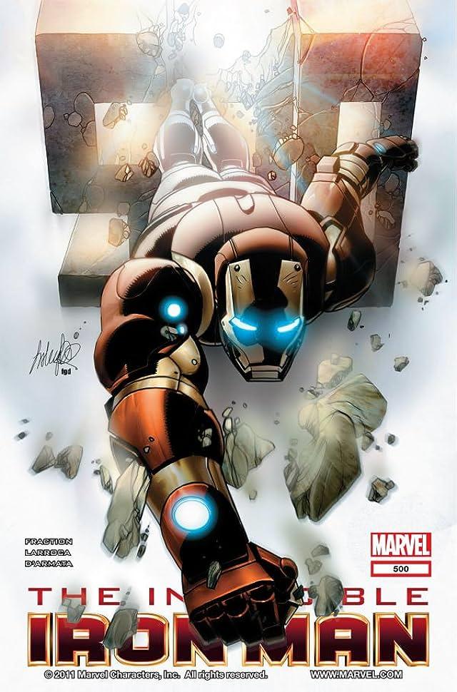 Invincible Iron Man (2008-2012) #500