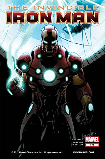 Invincible Iron Man (2008-2012) #501