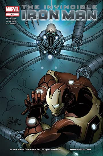 Invincible Iron Man (2008-2012) #502