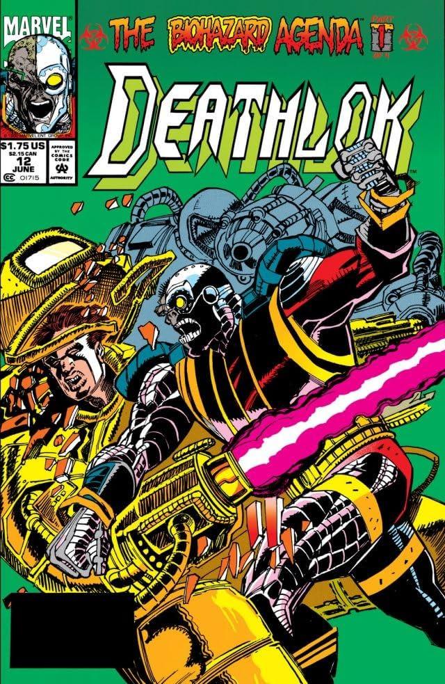 Deathlok (1991-1994) #12