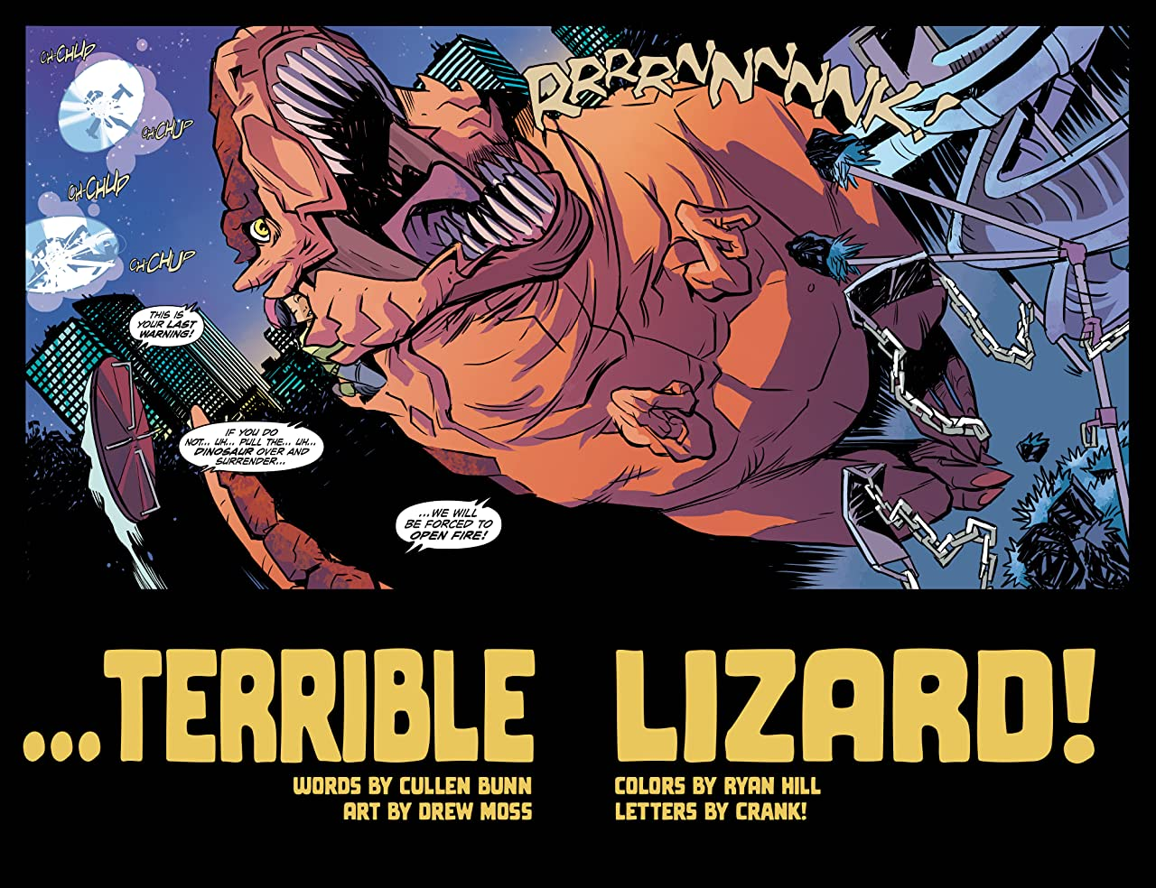 Terrible Lizard #3 (of 5)